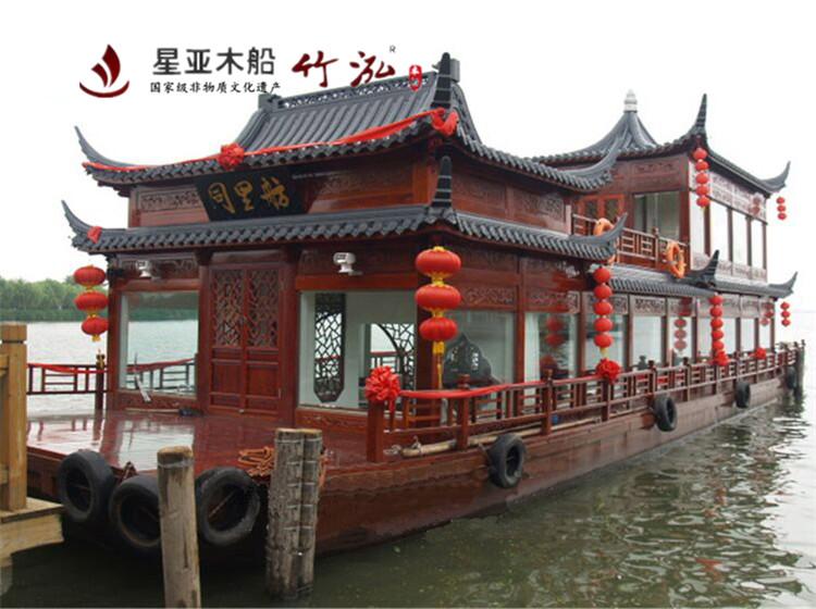 16米双层画舫船