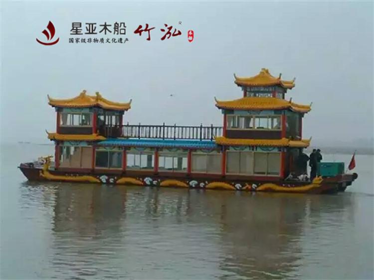 17米仿古画舫船