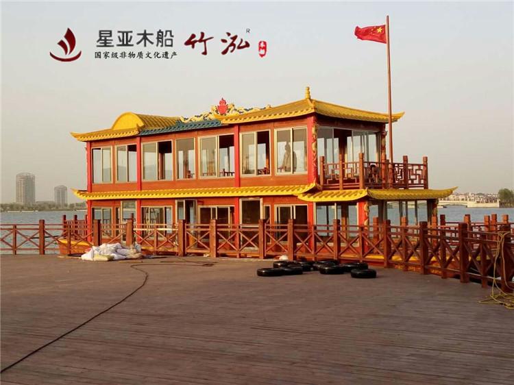 18米双层餐饮画舫船
